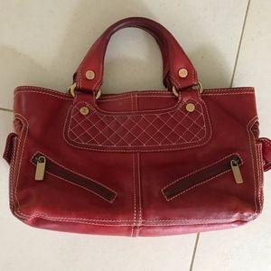Celine Red Boogie Bag